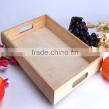 wooden services tray,hotel room guest supplies tray,service plate                                                                         Quality Choice