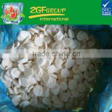 Frozen Sliced Water Chestnuts Peeled, Grade A