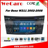 Wecaro WC-MB7501 android 5.1.1 gps navigation for benz e class w211 radio dvd car multimedia system wifi 3g playstore