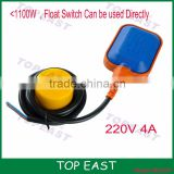 CCC approved electrical liquid level control cable float switch for water tank Pump factory price China