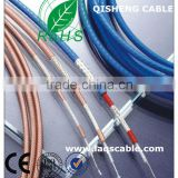 coaxial cable rg6 rg11 rg59 rg58 rg6 with power cable cable tv digital cable internet tv cable