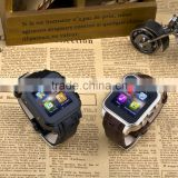 IOS & Android Bluetooth 4.0 android Smart Watch with SOS/G-sensor/Voice/Speaker For Iphone