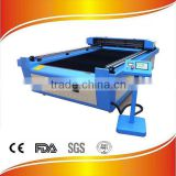 Factory Selling!! Fabric/Acrylic/Wood/MDF 130w CO2 laser cutting machine/eastern laser cutting machine