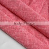 Two tone 100%Polyester Cation Bamboo shirting Blend Fabric softer handfeel