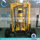 Hydraulic water well drilling rig, borehole drilling machine skype : luhengMISS