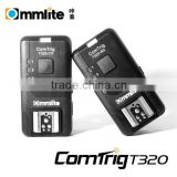 Commlite ComTrig T320 2.4G wireless Auto-sensing and Universal 4-in-1 wireless flash trigger remote control