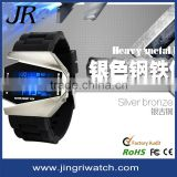 fashion changeable slicone watch band 2012 teenage fashion popular silicone watch,digital watches