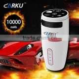 Carku new product power bank jump starter 10000mAh humidifier car battery charger portable jump starter