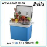 BL-124A large plastic cooler box outdoor mini fridge 12v