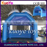 commercial used inflatable dolphin tent, inflatable house for rest,Best quality inflatable bubble tent for event