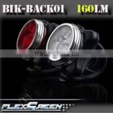 160lumen USB rechargeable red 3w Led rear bicycle light