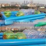 2015 Hot selling large inflatable adult swimming pool rental! Inflatable pool toys                                                                         Quality Choice