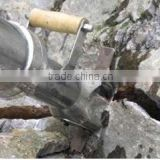 Rock splitting tools/ stone splitting wedge machine