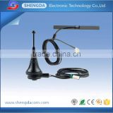 High performance Outdoor 433mhz stilo and patch model antenna with SMA and 1.2m cable