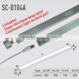 350mA constant current led strip Linkable/ furniture light/ plastic furniture lighting (SC-D104A)