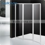 acrylic glass plastic folding bathtub shower door 6593                                                                         Quality Choice