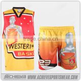 custom basketball jersey, yellow color basketball uniforms wholesale