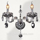 Modern Bedside Crystal Chandelier Candle Holders Wall Lamp From Guangdong