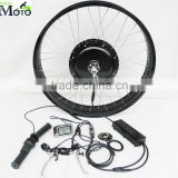 EN15194 CE ISO certification! 1000w 48V fat tire Electric bike conversion kit with battery and LCD display                                                                         Quality Choice