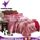Jacquard Red Luxury Wedding Bedding Duvet Cover Set                                                                         Quality Choice