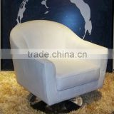 furniture thailand hot sales modern armchair white leather sofa for salon                                                                         Quality Choice