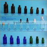 Latest design hot sale essential oil bottle with reducer plug glass bottle                                                                                                         Supplier's Choice