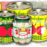 Canned Broken Lychee in Light Syrup