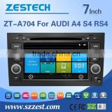 HOT sell 7inch Car Audio Navigation system For AUDI A4 S4 RS4 with 3G WiFi OBDII DVR function