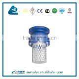 Cast Iron Basket Strainer With Foot Valve