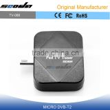 Mini Android DVB-T/ISDB-T TV Tuner Receiver for Android Pad/Phone Mobile Device