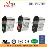 AC socket EMI filter for power supply