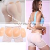Free shipping four pieces sexy girl Silicon butt push up hip pads,sexy ladies padded panties