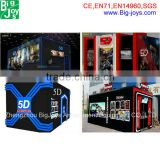 Hot Selling 5D Cinema Box Cabin For Sale