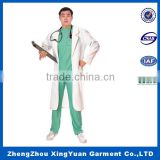 Hot sale cosplay surgeon doctor costume,Halloween cosplay men costume sexy doctor costume for adult