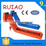 hot sale china factory hebei ruiao machine tool accessory hinged belt type cnc chip conveyor
