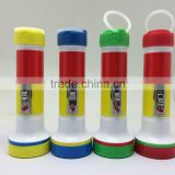 tiger head plastic led flashlight torch world export-ftp998
