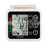 New Automatic Digital Wrist Cuff Blood Pressure Monitor Arm Meter Pulse Sphygmomanometer Heart Beat Meter LCD Display
