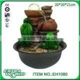 cactus water decoration / indoor fountain waterfall / home decorative fountain humidifier