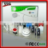 Support 5 wireless doorbells intelligent gsm alarm system