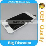 for iphone 5 white color complete lcd touch screen digitizer