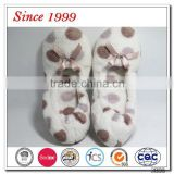 coral fleece outsole with anti-slip materials ladies slippers
