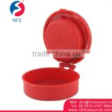 Small Equipment Plastic Manual Single Hamburger Burger Mold Maker Tools Press Burger Equipment