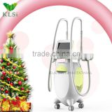 Merry Christmas popular fat lose loss beauty equipment/cavitation vacuum rf slimming machine