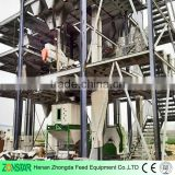 1-10T/H Poultry Feed Pellet Production Line Plant/Ring Die Animal Feed Pellet Production Line