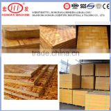 Bamboo pallets for concrete brick machine / hollow block machine