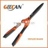 steel handle straight blade hedge shears