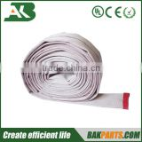 Double jackets PVC lined fire hose for fire fighting equipment