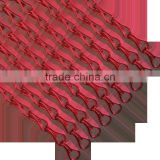Heavy Duty 12mm Pink color Aluminum hook chain for curtain