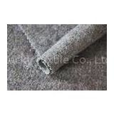 Soft Knitting Boiled 100% Merino Wool Fabric For Apparel 550G / M Weight
