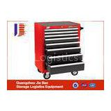 Heavy Duty Lockable Steel Tool Storage Cabinets With Five Drawers